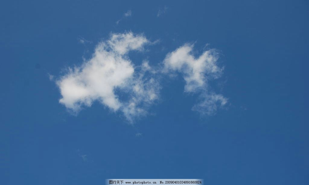 白云 云彩 蓝天 轻风 晴朗 远景 自然景观 自然风景 摄影图库 300dpi