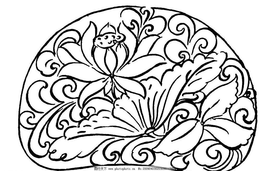 唐代素材 唐朝 古代 古典 底纹 花边 图案 底纹边框 花边花纹 设计