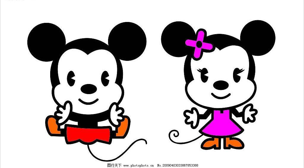 卡通米老鼠 卡通 米老鼠 其他矢量 矢量素材 矢量图库 cdr