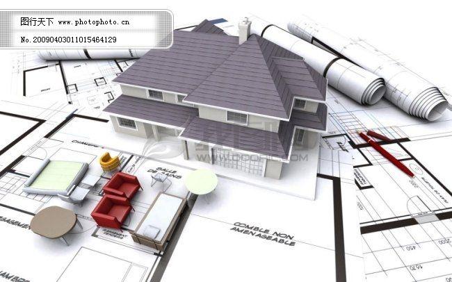 建筑 图纸 设计 微观 微缩 景观 别墅3d模型免费下载 萨伏伊别墅模型