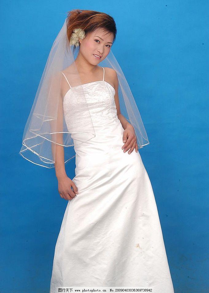靓丽新娘9 美女写真 婚纱摄影 白沙 秀发 含情 秀丽 人物图库 人物图片
