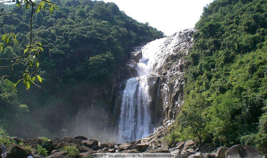 龙归瀑布 丰顺 瀑布 旅游摄影 自然风景 摄影图库 72dpi jpg