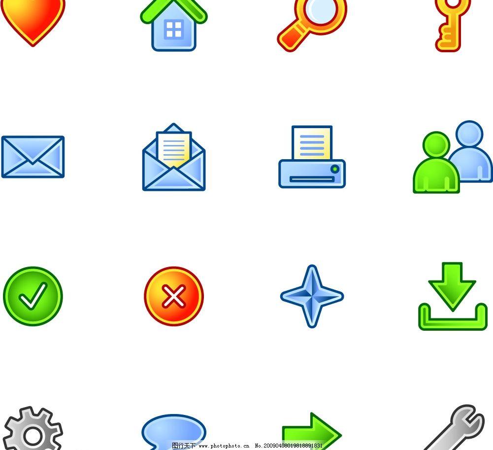 失量图标 图标 失量图 标识标志图标 公共标识标志 矢量图库 eps