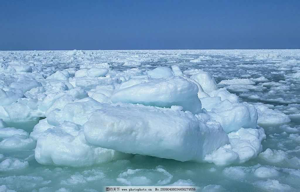 冰天雪地 冰块 自然景观 山水风景 摄影图库