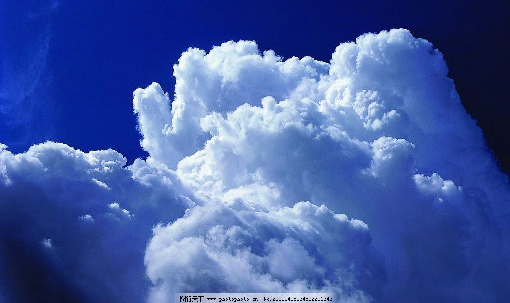 云海怒天 云海 蓝天白云 自然景观 自然风景 摄影图库 72dpi jpg
