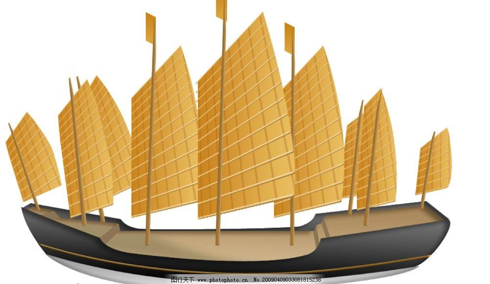 原创手绘大宝船图片