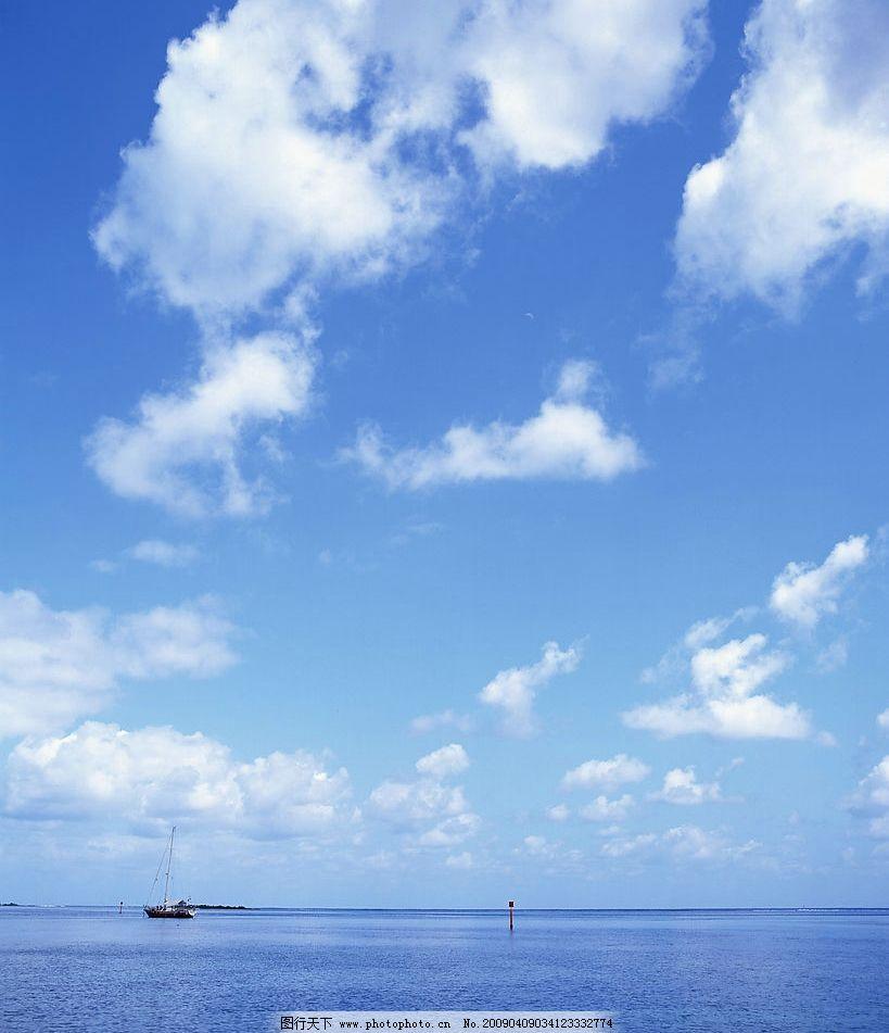 天空 海上风景 旅游摄影 自然风景 摄影图库