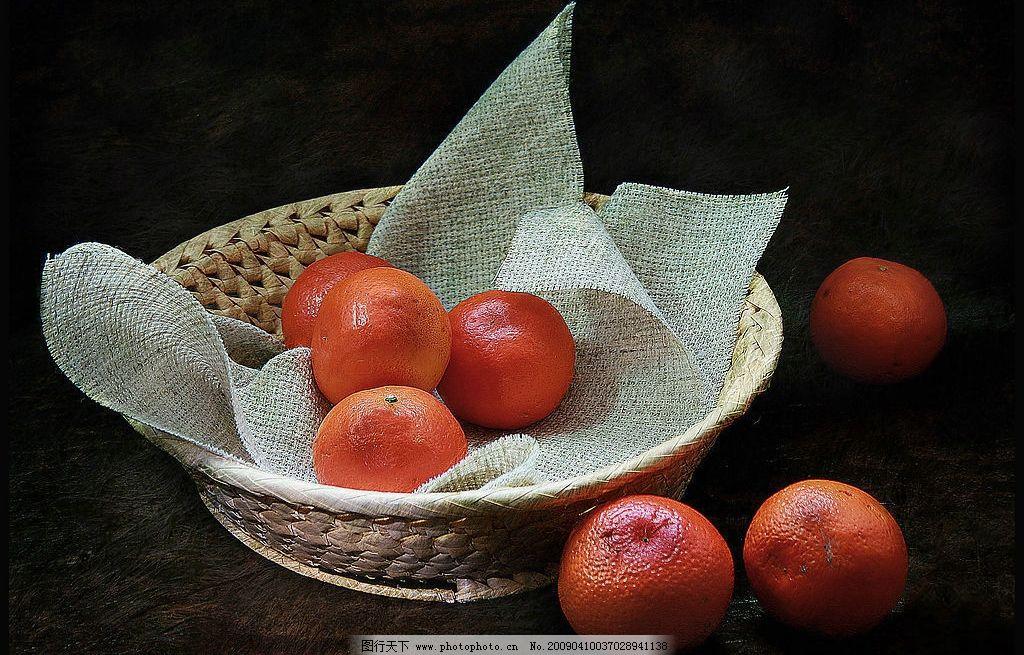 素描静物橘子的作画步骤