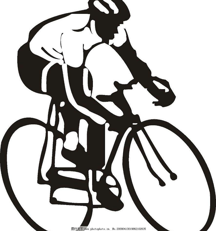 自行车 标识标志图标 矢量图库