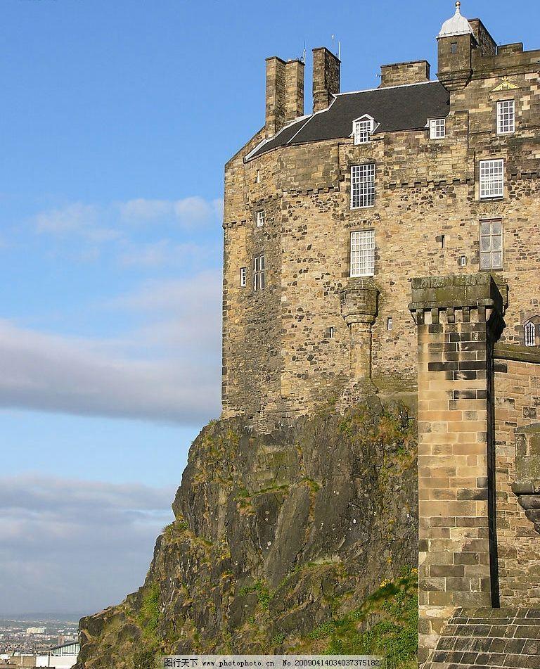 苏格兰古堡图片