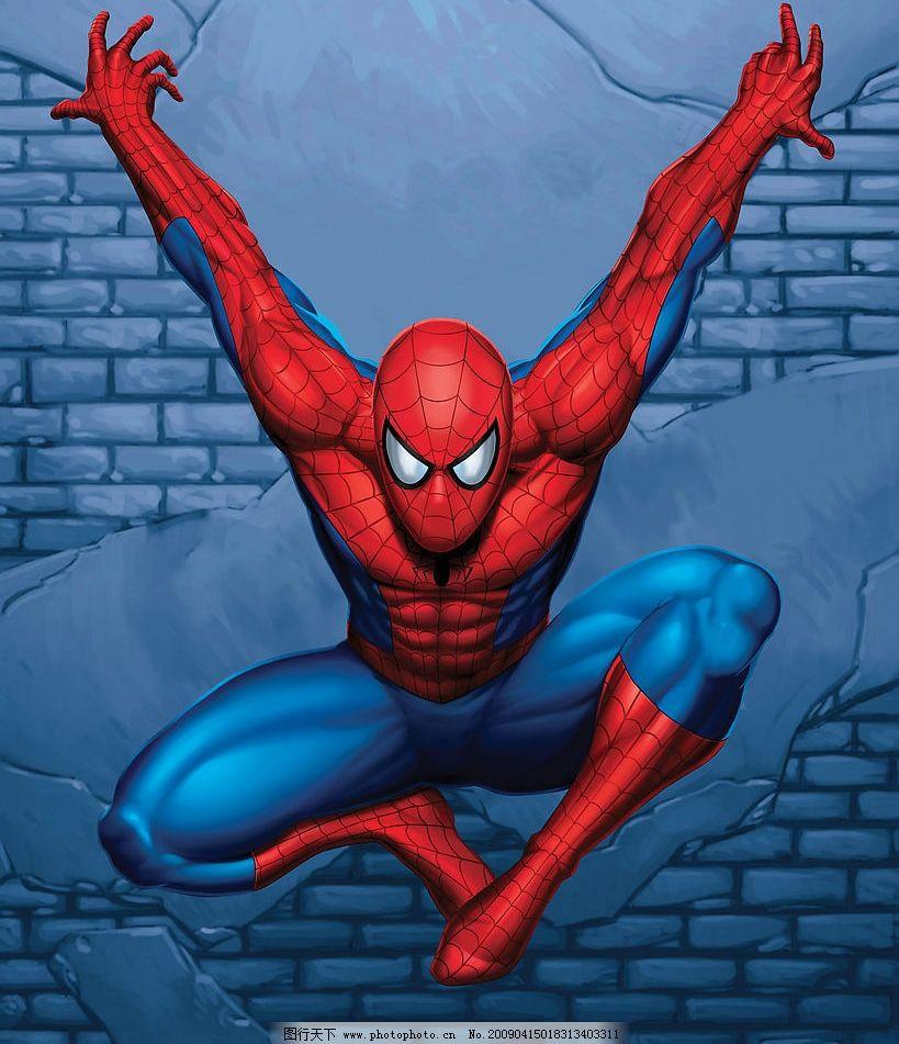 spiderman 蜘蛛侠 美国 漫画 英雄 spider man 动漫动画 动漫人物图片