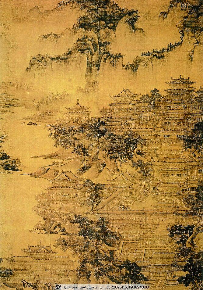 中国工笔画 背景 郭忠恕