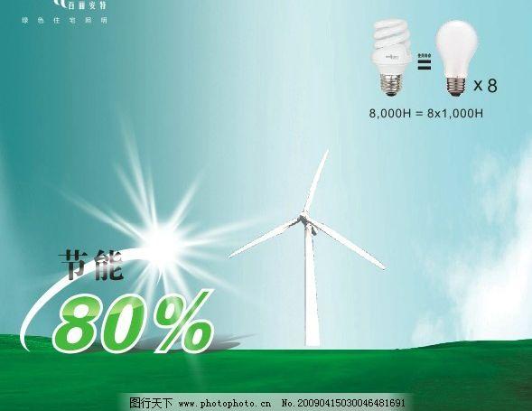 灯饰广告风车结构图