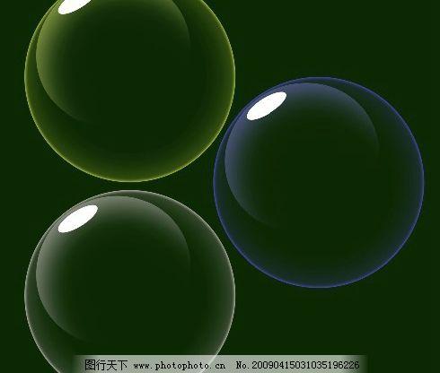 电脑屏保气泡图片