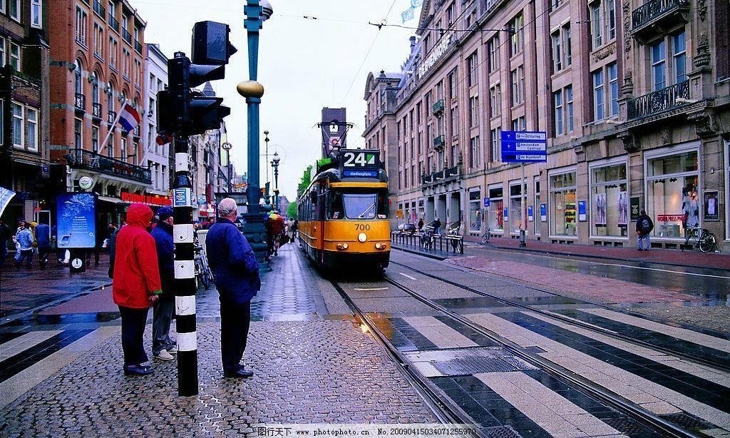 外国风情 房子 街道 人 旅游摄影 国外旅游 摄影图库 72dpi jpg