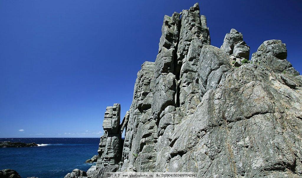 北海道/北海道的积丹半岛西侧图片