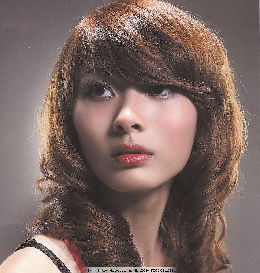 发型 发型设计 发型模特 卷发 美发 人物图库 其他人物 摄影图库 100图片