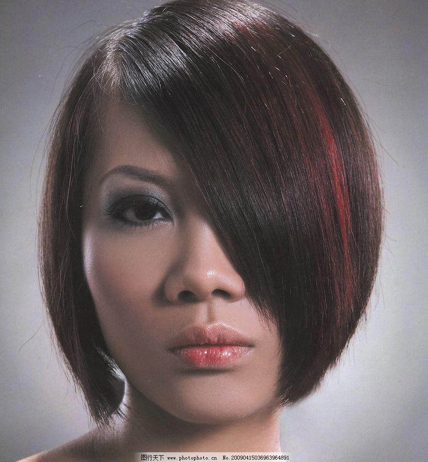 发型 发型设计 发型模特 短发 美发 人物图库 其他人物 摄影图库 100