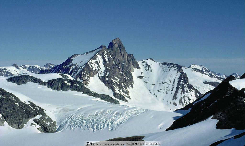 冰山 雪山 山峰 自然景观 自然风景 摄影图库 72dpi jpg 风景