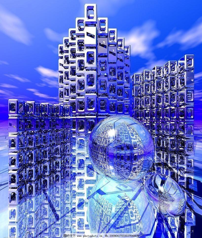 高清科技大楼创意 背景 抽象底纹 底纹边框 高科技 科技背景 科技创意