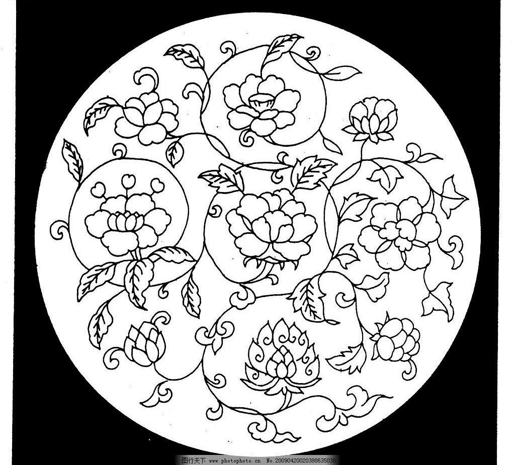 宋代素材 宋朝 古代 古典 图案 花边 底纹 黑白 底纹边框 花边花纹