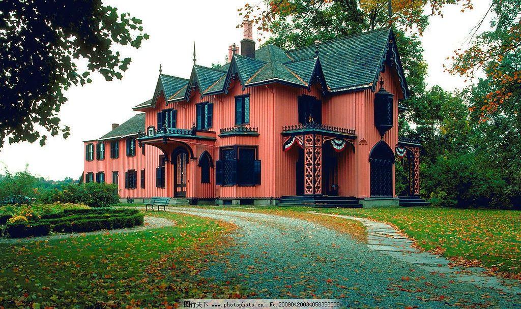 别墅 欧式 风景 旅游摄影