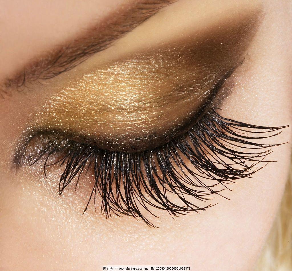 眼睛 漂亮 美丽 迷人 睫毛 眼影 化妆 眉毛 特写 人物图库 女性女人