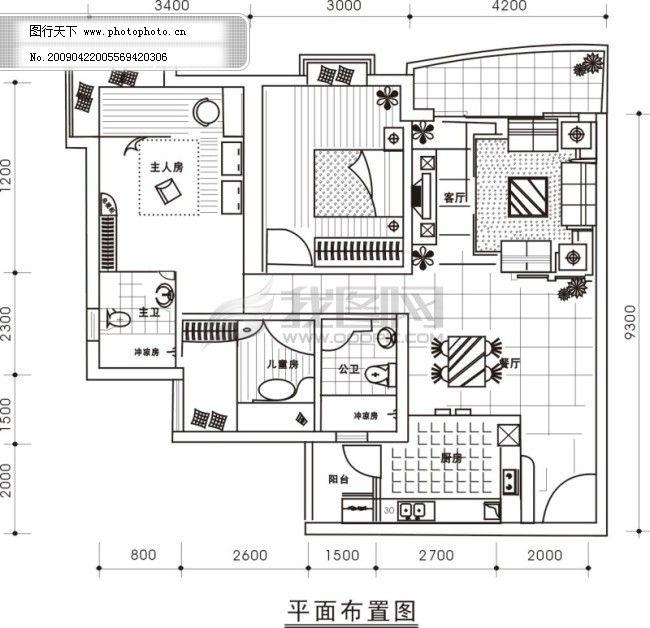 建筑平面图纸