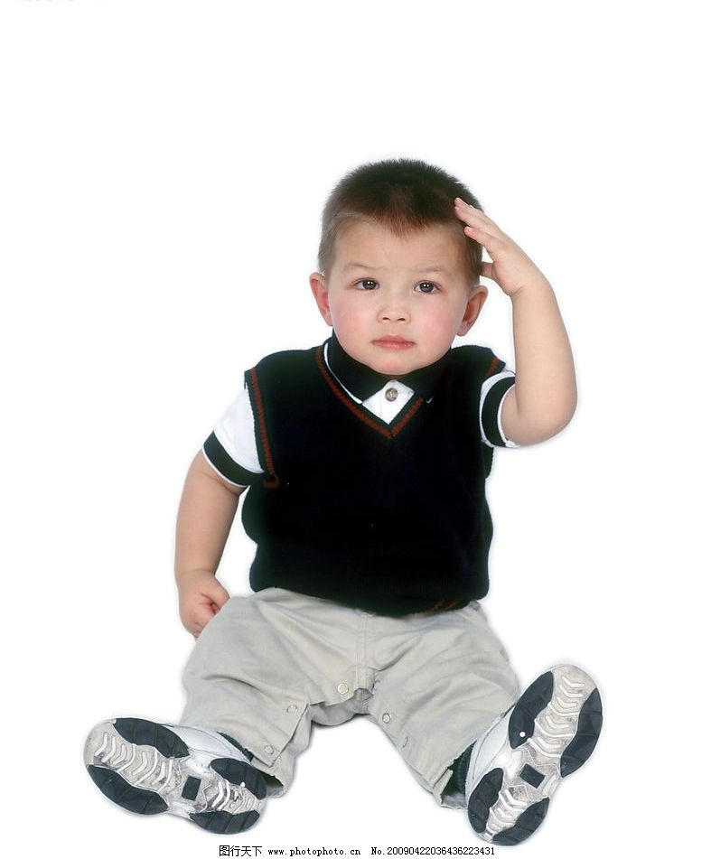 可爱幼童 男孩 活泼 眼神 手势 人物图库 儿童幼儿 摄影图库