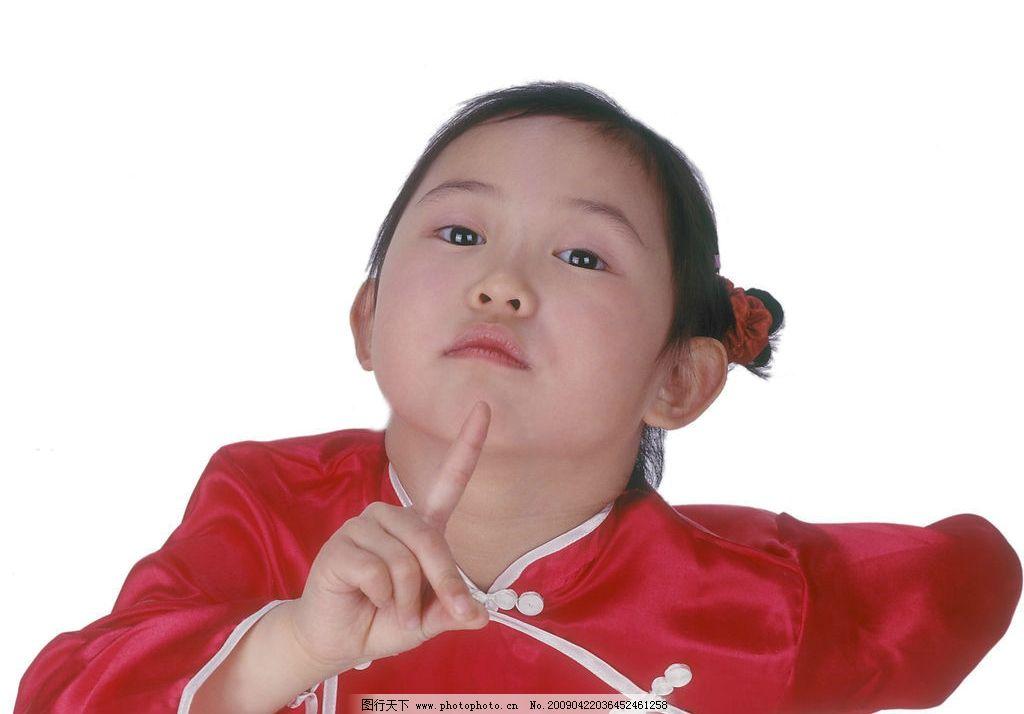 可爱幼童 女孩 活泼 眼神 手势 人物图库 儿童幼儿 摄影图库 350dpi