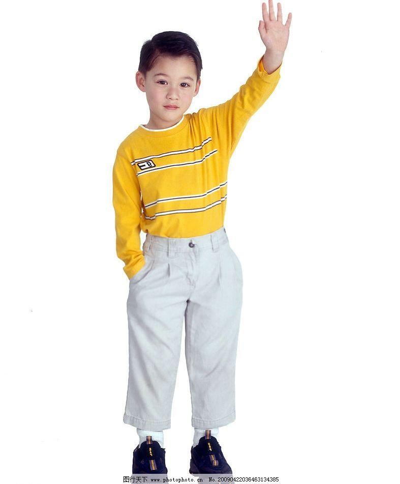 可爱幼童 男孩 活泼 眼神 手势 笑容 人物图库 儿童幼儿 摄影图库