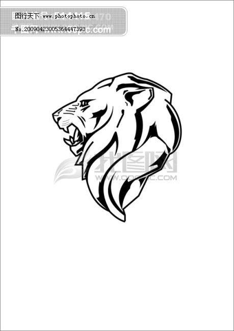 狮子头免费下载 生物世界 狮 狮子头 矢量图库 头 野生动物 狮子头 狮