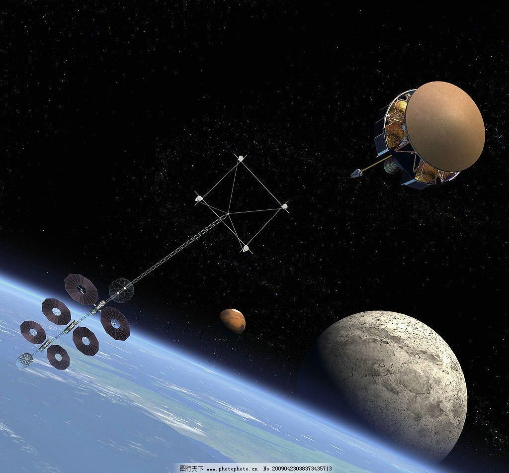 卫星 空间站 美国 航天飞机