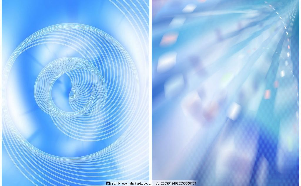 蓝色背景 梦幻 光影 数码 科技      时尚 底纹边框 背景底纹 设计
