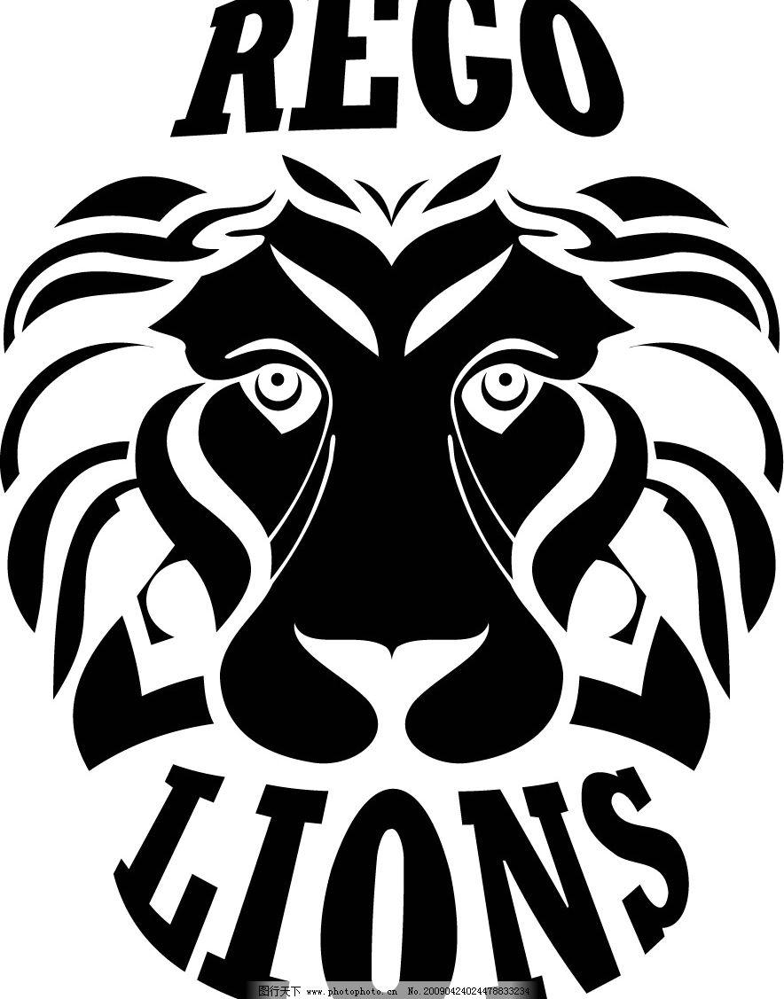 狮子 其他矢量 矢量素材 矢量图库 cdr 生物世界 野生动物