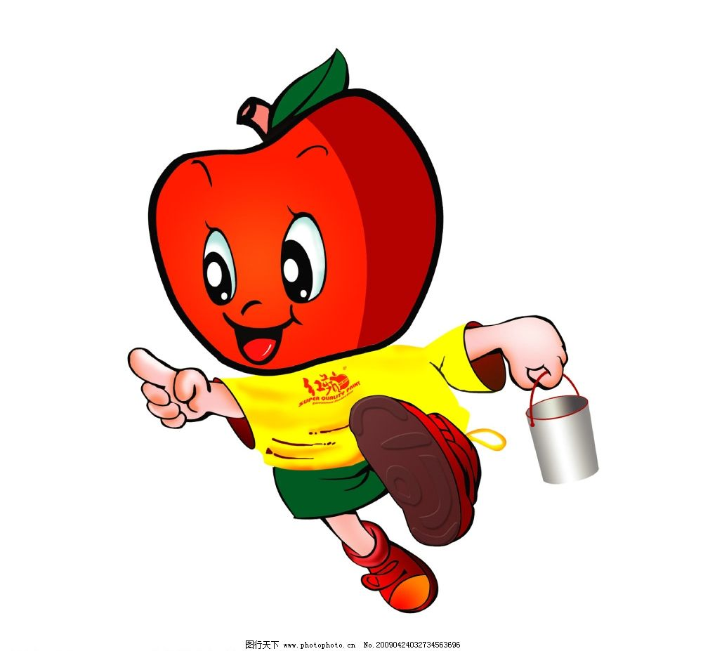 苹果漆小人 提前 跑步 psd分层素材 人物 源文件库 40dpi psd