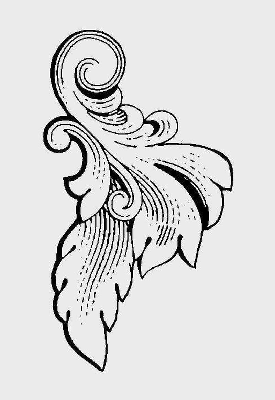 古代图案花纹0088
