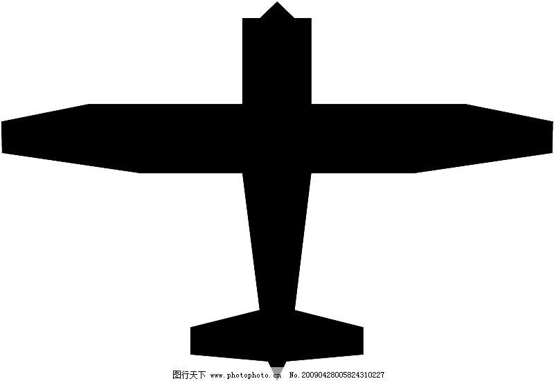 飞机等航天设备0152_现代科技_矢量图_图行天下图库