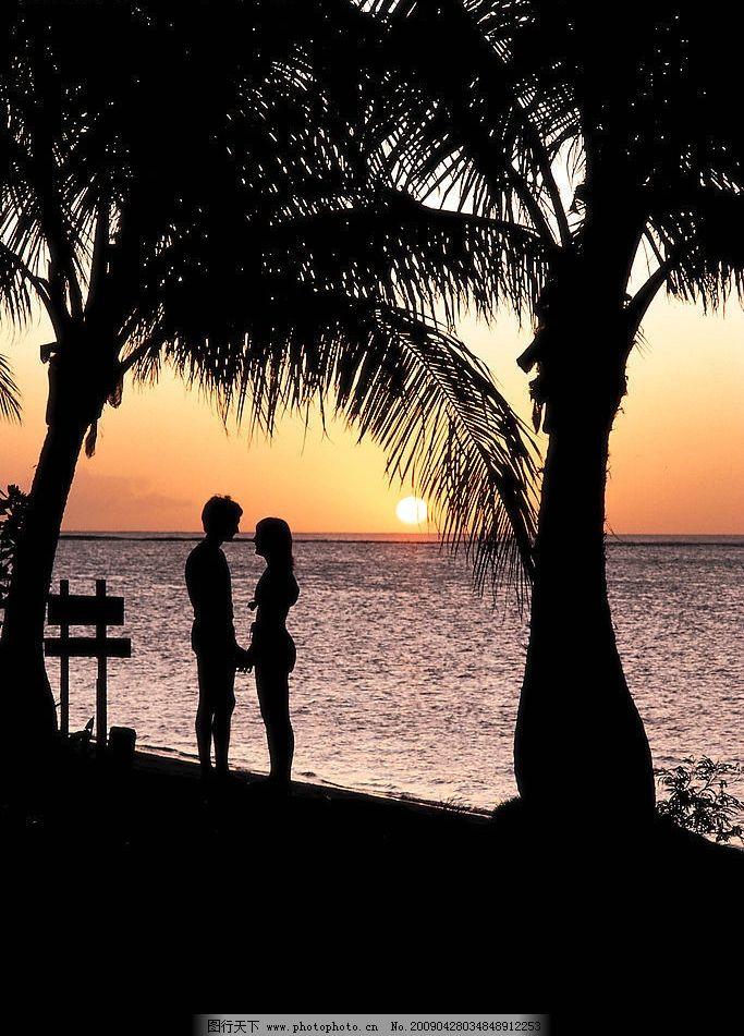 情侣风景图片