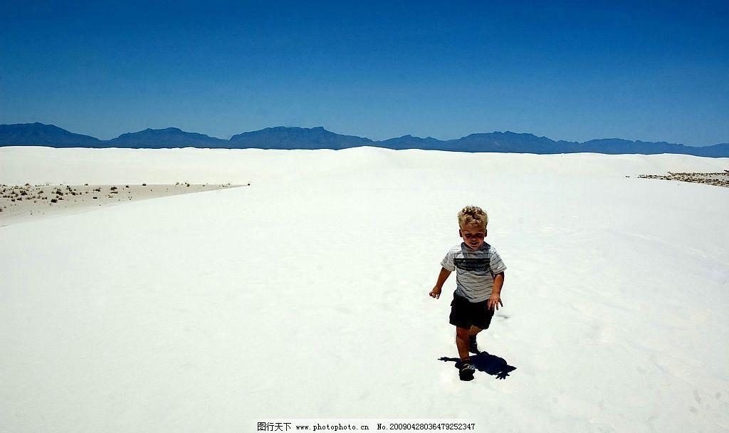奔跑的儿童图片