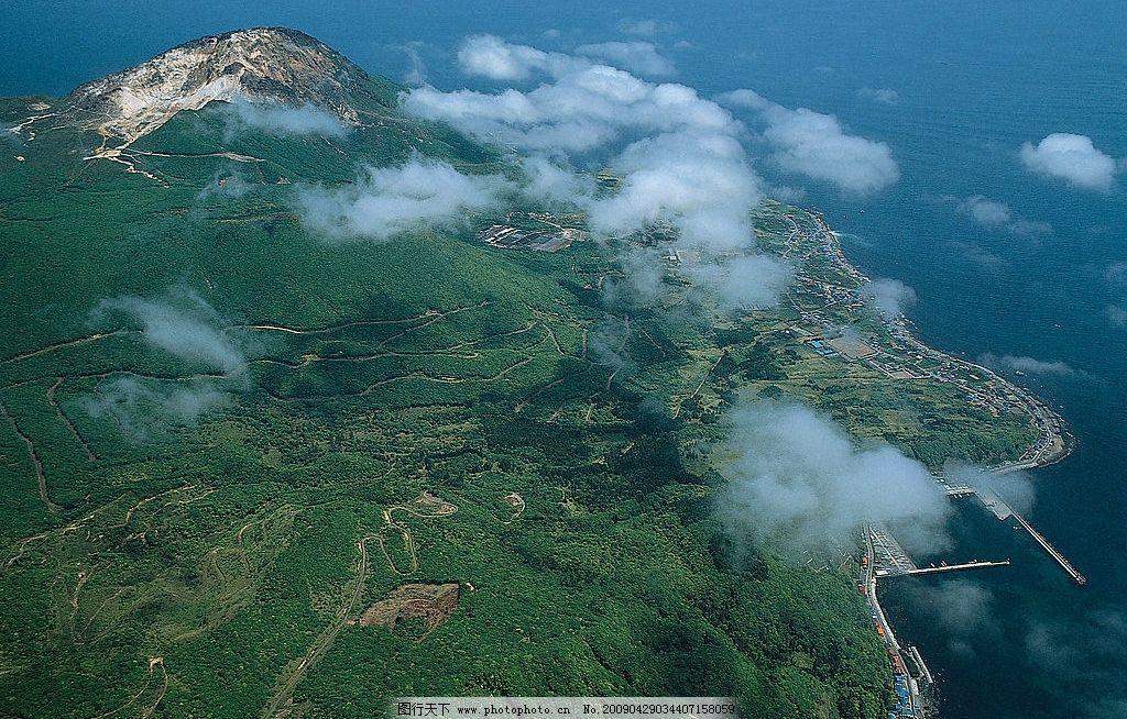 海岛高清晰俯视图片