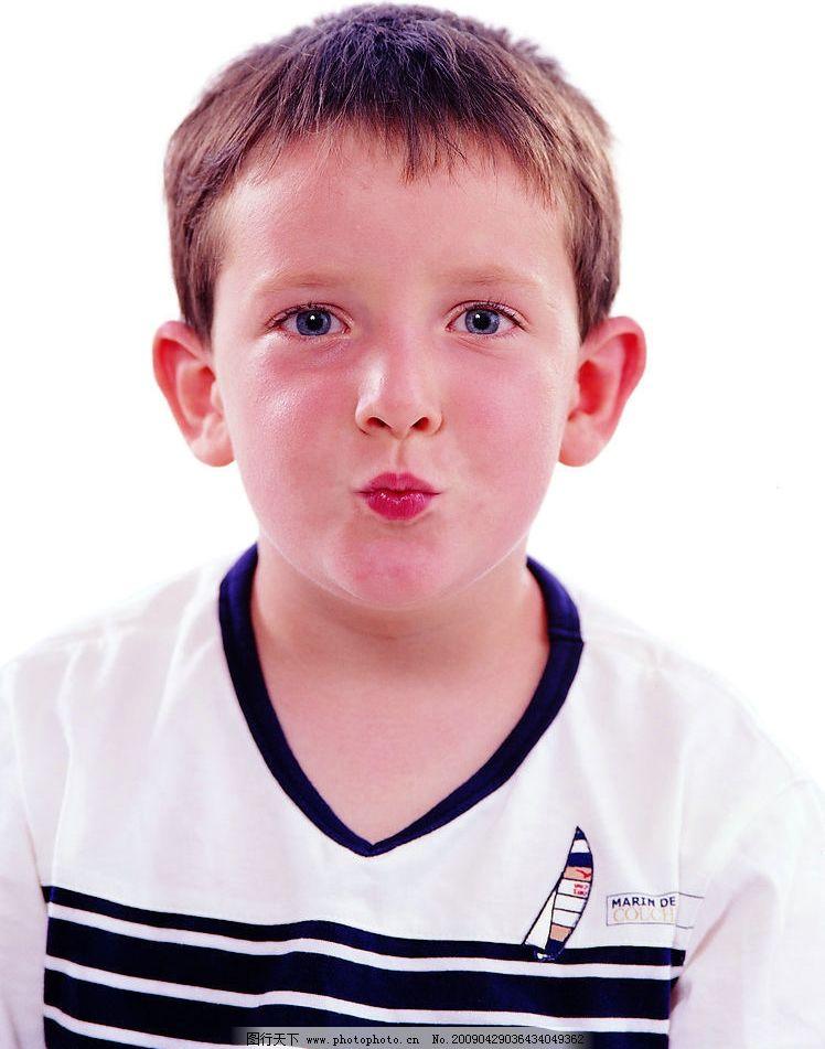 天真儿童 男孩 嘴唇特写 可爱 人物图库 儿童幼儿 摄影图库