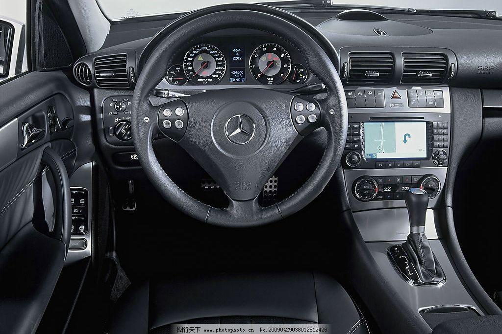 汽车 轿车 内饰 方向盘 车窗 奔驰 汽车内部 驾驶 其他 图片素材