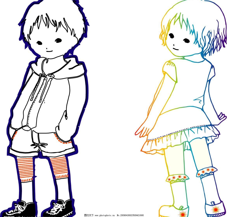 [活泼可爱小孩图片