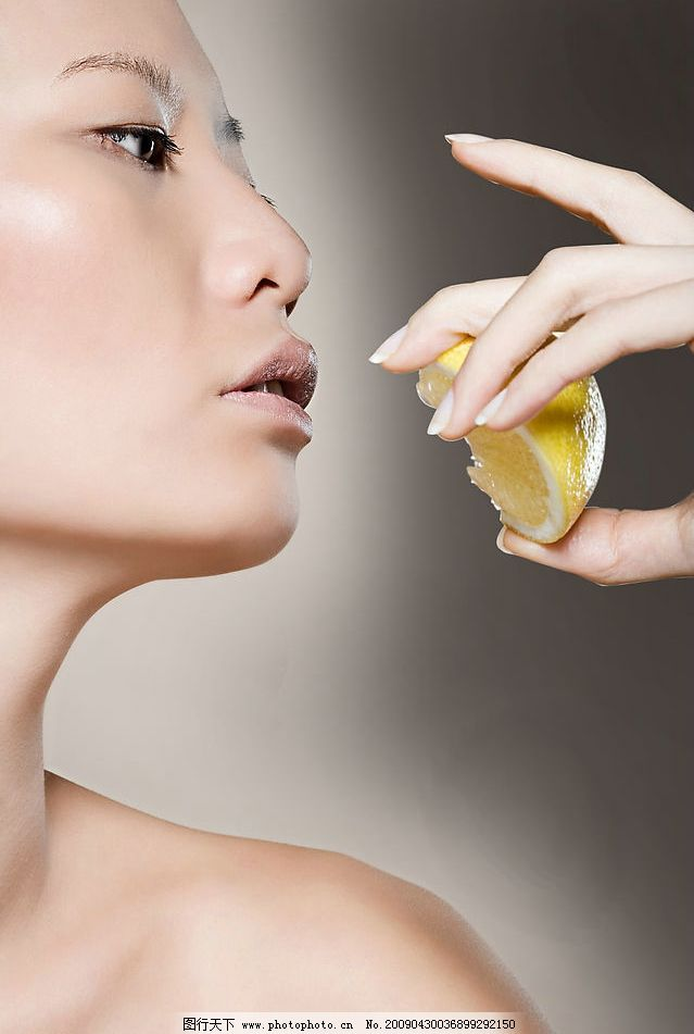 高清化妆品广告模特图片