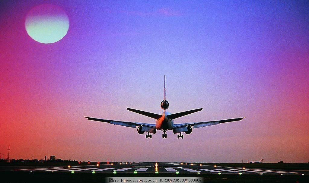 飞机是怎么着陆的