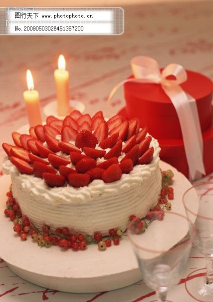 蛋糕 蛋糕免费下载 草莓 水果 图片素材 风景生活旅游餐饮