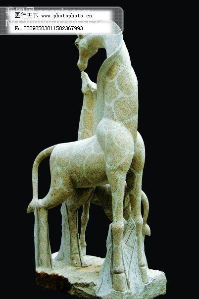 东营长颈鹿雕塑