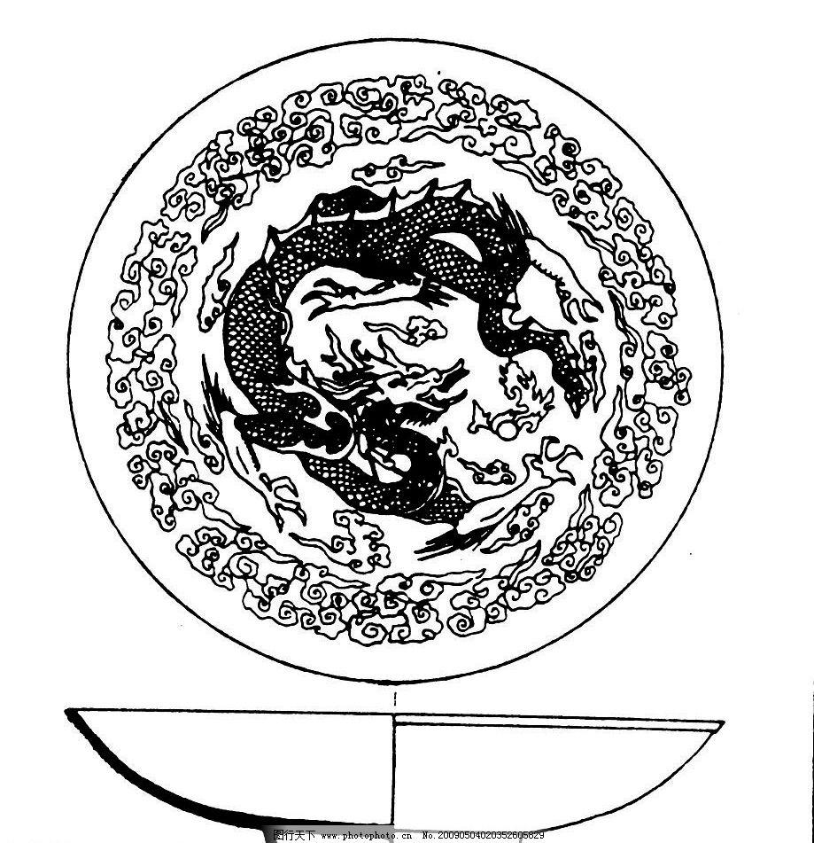唐代素材 唐朝 古代 古典 图案 花边 底纹 黑白 底纹边框 花边花纹 设