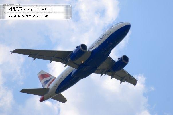 民航飞机图片_现代科技